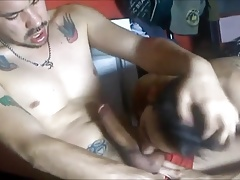 Thich BBC Riding and Creampie