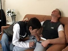 Mature man ass-fucking a twink - Latin-Hot
