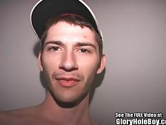 Hot Boy Anthony Sucking Cock In Glory Hole