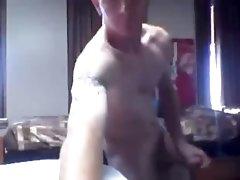 Army guy fucks his sleeping bag - NakedSnapShots.com