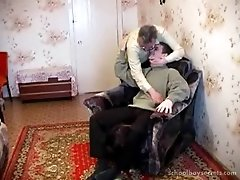 Russian twink lets an older man fuck him