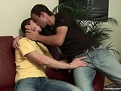 Hot Twinks Kosta and Miro On Hot Kissing