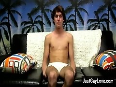 Xxx gay handjob image Tyler Woods is saucy and sexy, and comes