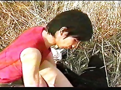 Japanese Boyfriends in the nature