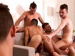 not daddy's Orgy - Orgy Kicks Off